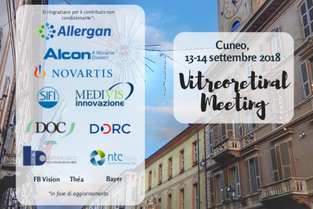 vitreoretinal meeting cuneo